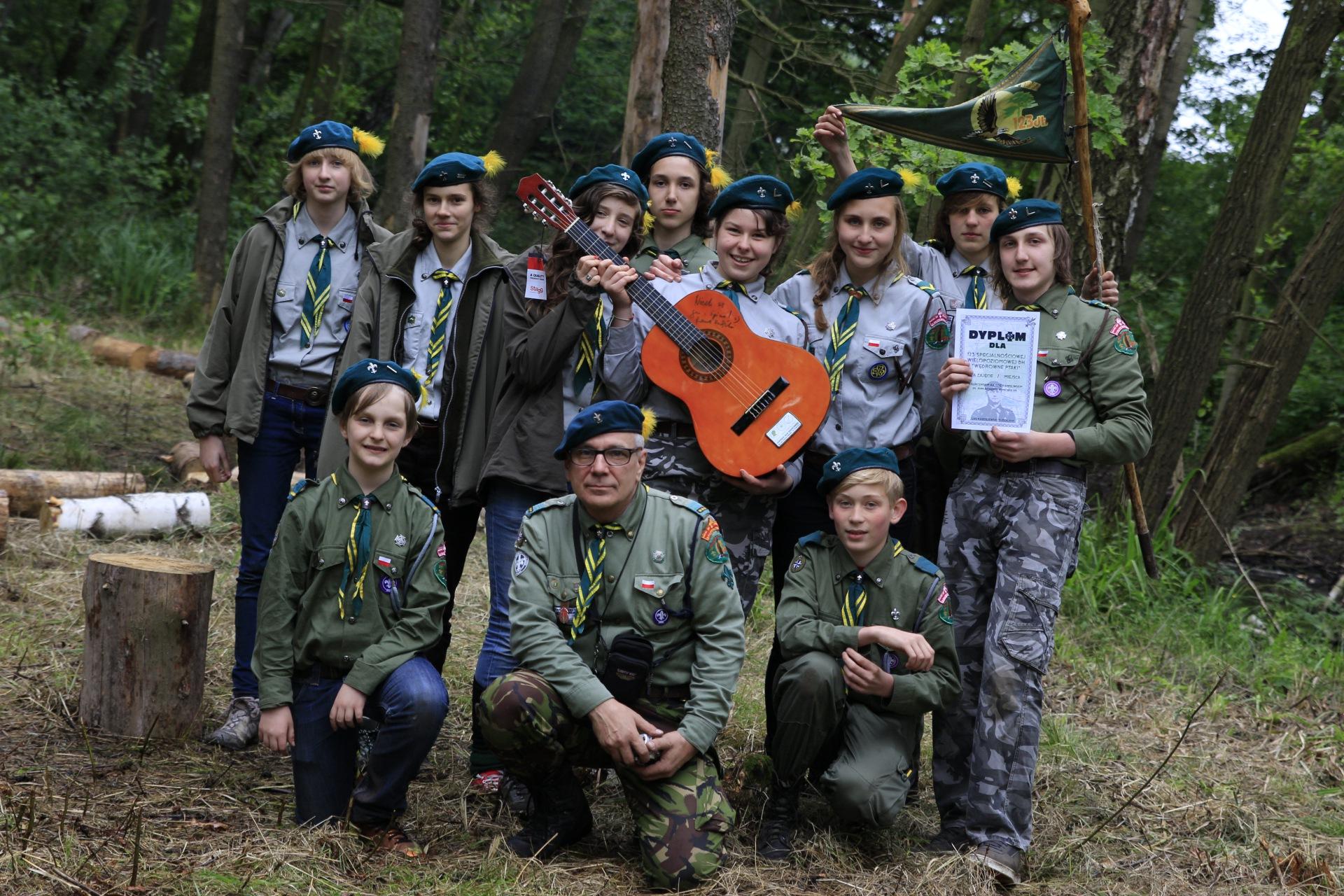 """Harcerski Rajd Radziejewski - 123 SWDH """"Wędrowne Ptaki"""""""